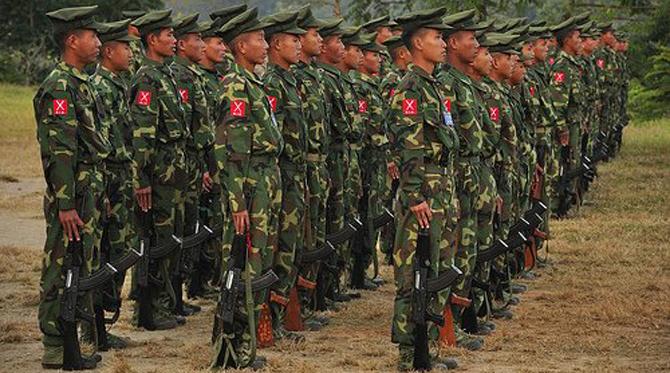 Overnight Clash in Kachin State