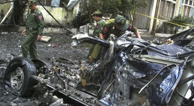 Burma State Media Identifies Bombing 'Culprits'