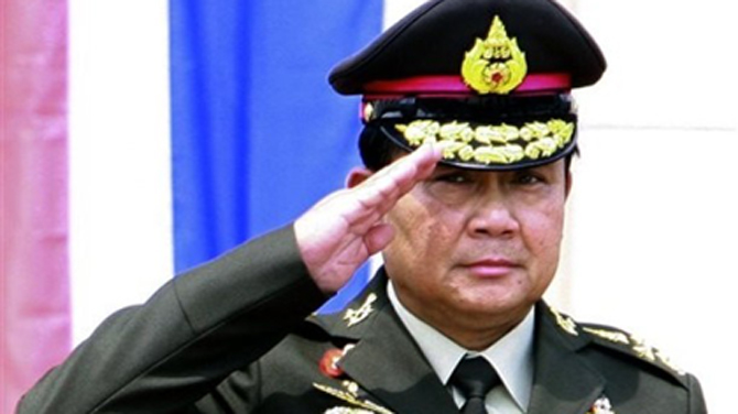 Thai Army Commander Visits Burma for Security Talks